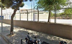 El Pabellón Municipal de Deportes Juan Antonio Bastante en L'Hospitalet de Llobregat.
