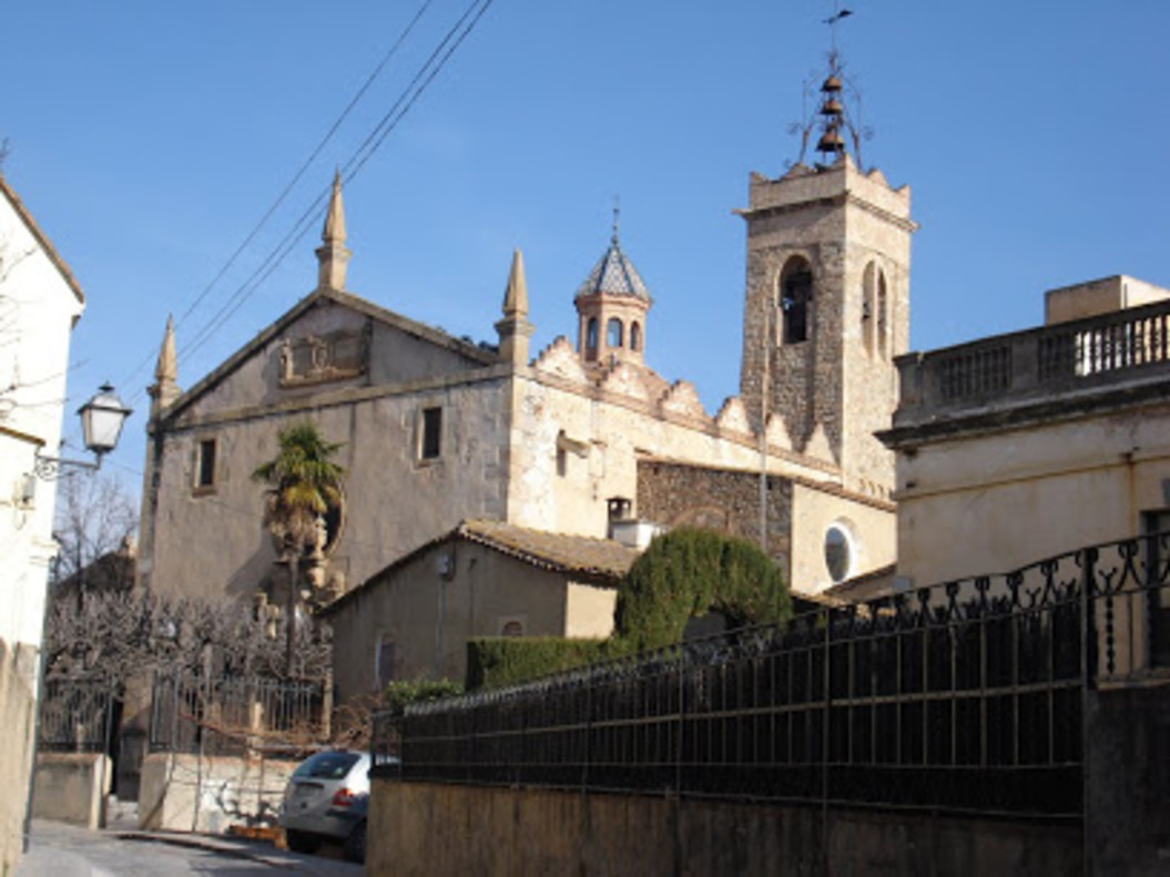 La parroquia de Sant Feliu de Alella.