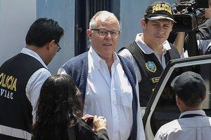 Pedro Pablo Kuczynski es detenido acusado de lavado de dinero.