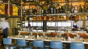 Un local del grupo de restauración francés Big Mamma, especializado en platos italianos, y exponente del los restaurantes fast fashion.