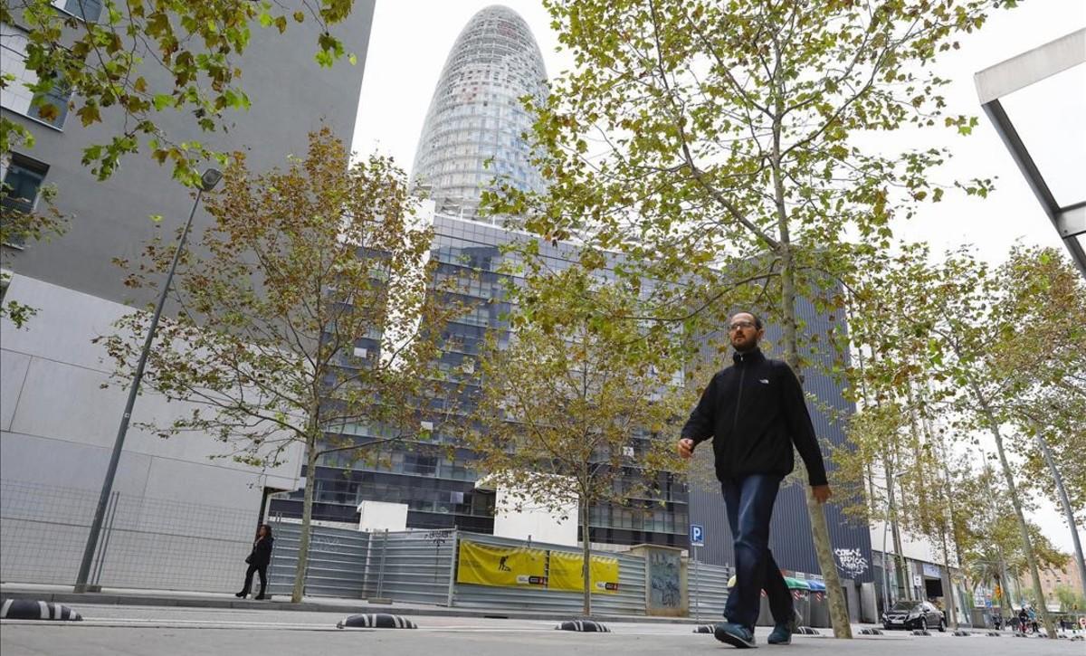 Promoción de viviendas del ayuntamiento, en la calle de Ciutat de Granada.