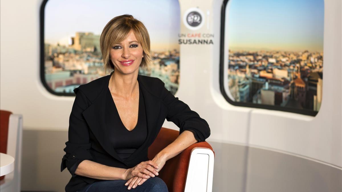 La presentadora de Espejo público, Susanna Griso, en marzo del año pasado.