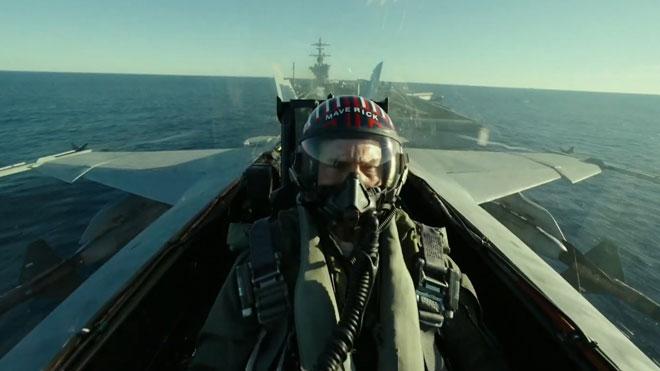 Primer adelanto de la película 'Top Gun: Maverick', protagonizada por Tom Cruise.