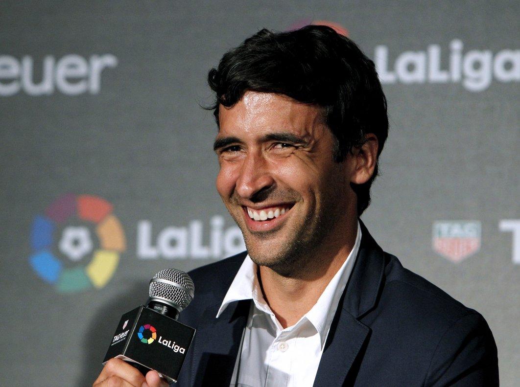 Raúl González, en una imagen de archivo.