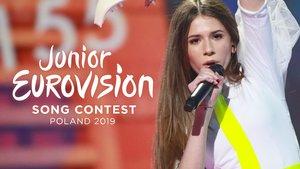 Roksana Wegiel, representante de Polonia y ganadora del Festival de Eurovisión Junior 2018 en Minsk (Bielorrusia).