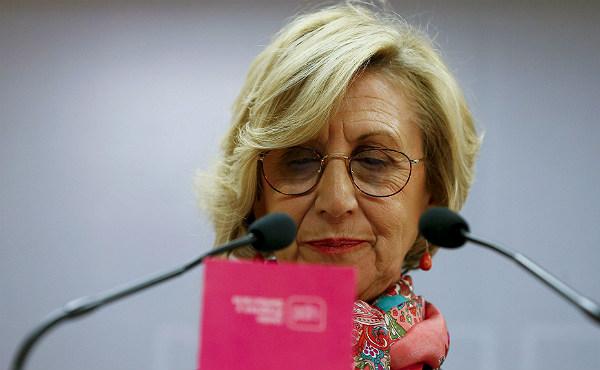 La líder d'UPD fa callar els rumors de dimissió després dels mals resultats en les eleccions andaluses.