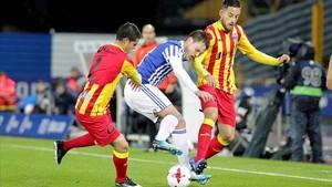 El Lleida elimina la Reial amb la samarreta de la senyera