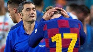 Valverde: «L'entrenador del Barça sempre està en el punt de mira»