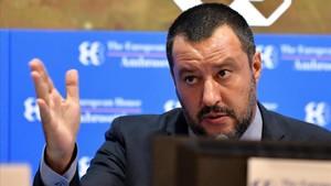 Matteo Salvini, en una foto de archivo