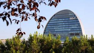Sede central de BBVA en Madrid.