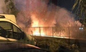 Segundo incendio en Mataró.
