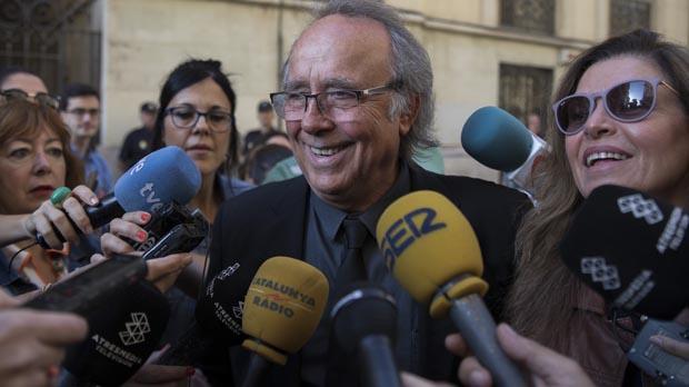 El cantautor ha rebut lAlta Distinció del Govern valencià amb motiu del 9 d'octubre, Dia de la Comunitat Valenciana.