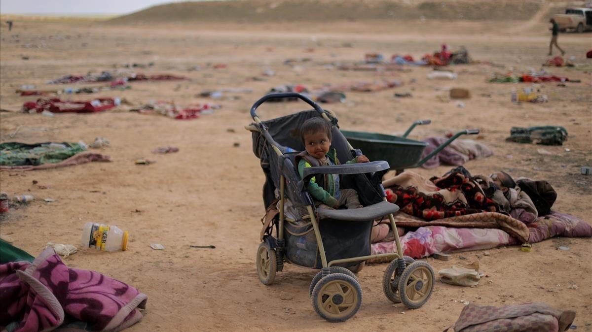 Los niños en la guerra de Siria son las víctimas más preocupantes.