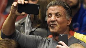 Sylvester Stallone, durante un concierto de Bruce Springsteen en Los Ángelesen el 2016.
