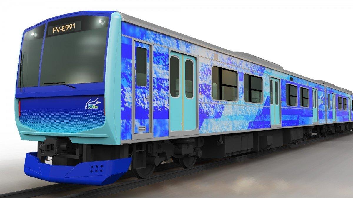Toyota, Hitachi y JR East crearán trenes de pila de combustible de hidrógeno