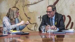 Artadi desvincula el Govern de la Crida Nacional de Puigdemont
