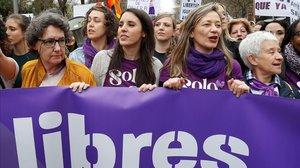 PSOE i Podem acudeixen separats a la manifestació del 8-M