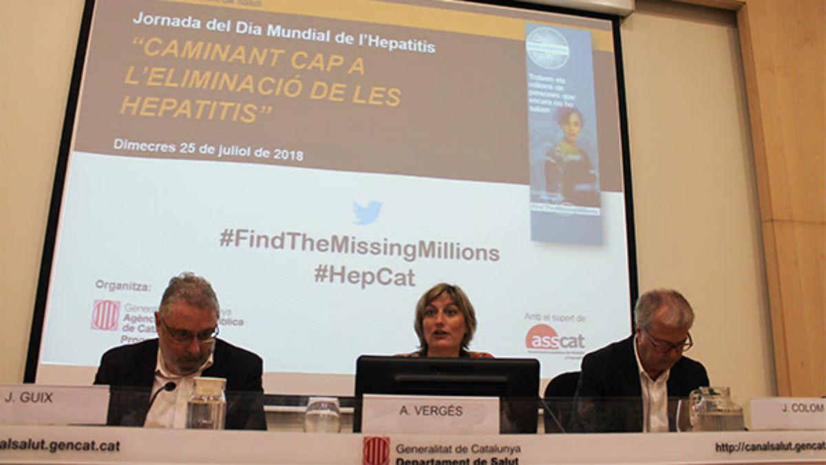 Presentat un nou pla per eliminar l'hepatitis C a Catalunya