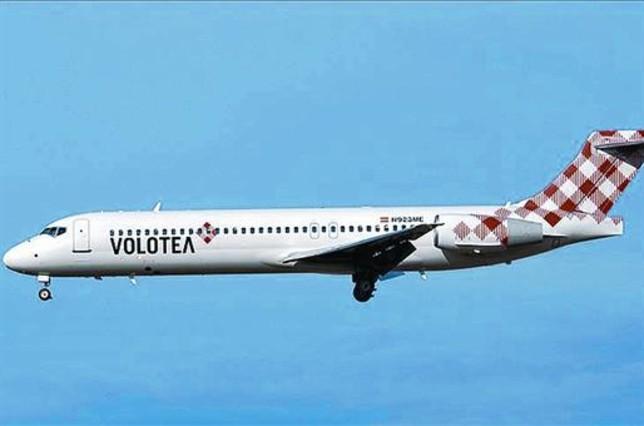 A volar 8 Avión de la nueva aerolínea Volotea.