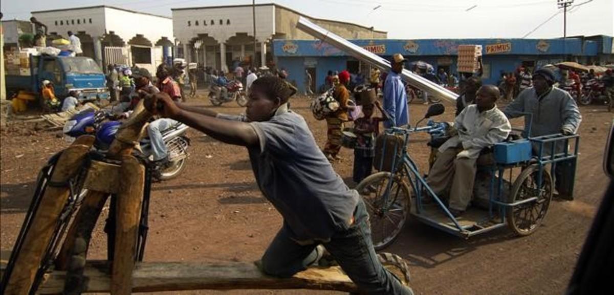 Una imagen de las calles de Goma, en la República Democrática del Congo.