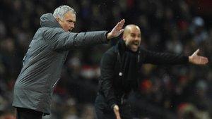 Guardiola pot allunyar Mourinho del títol