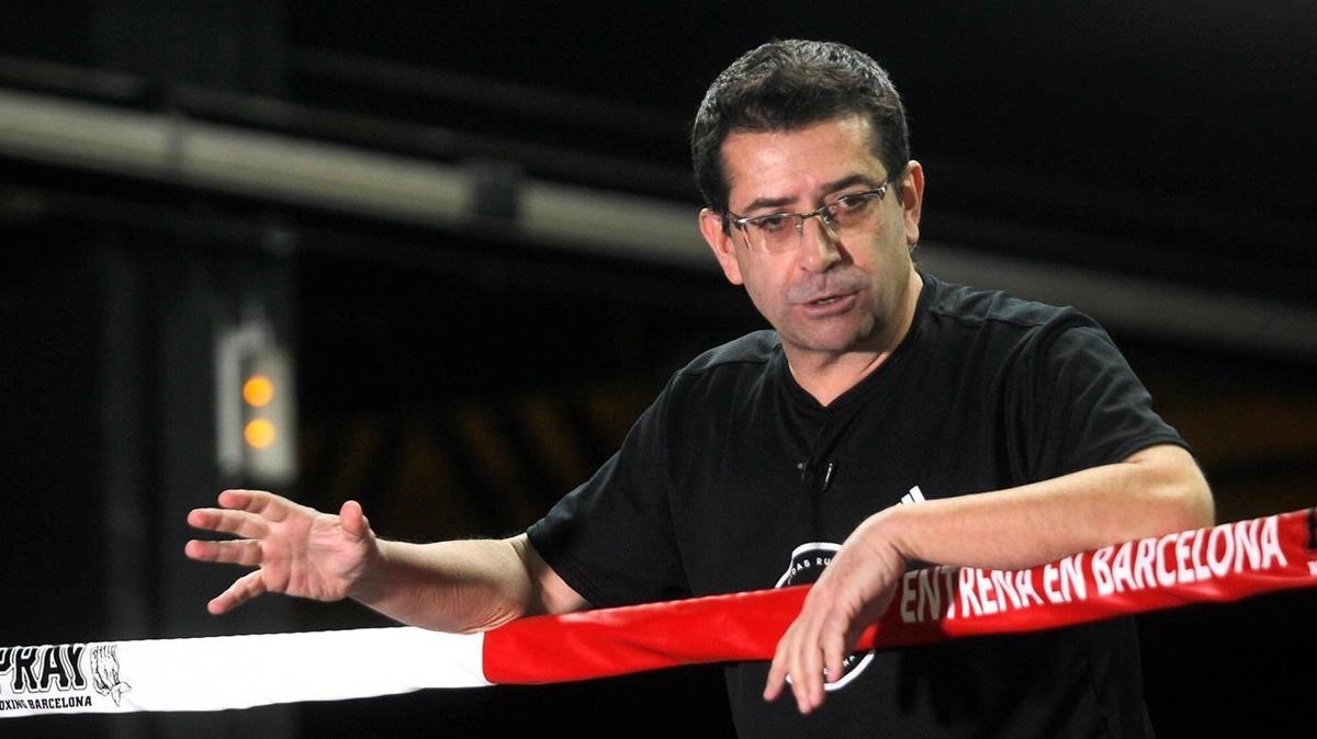 Retrato del psicólogo deportivo Pep Marí.