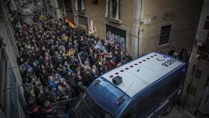 Els CDR convoquen una protesta contra la presència del Rei al Mobile