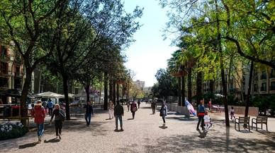 La Rambla del Raval eliminará obstáculos para generar más vida de barrio