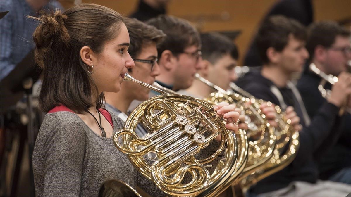 La Jove Orquestra Nacional de Catalunya, 25 años formando músicos