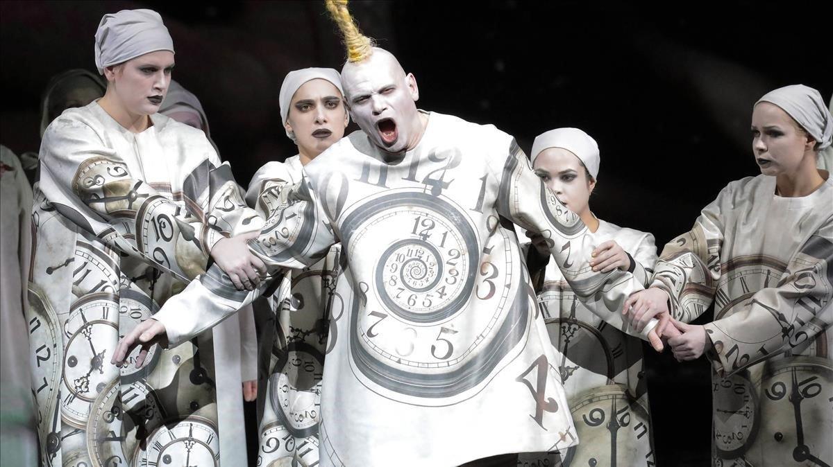 Imagen deKarl V el nuevo reto operístico de Carlus Padrissa y Lita Cabellut.