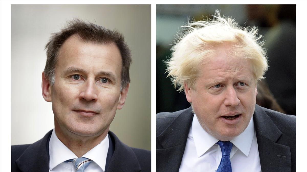 Johnson i Hunt es disputaran el càrrec de primer ministre britànic