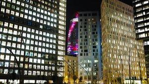 La torre Tànger y la torre Glòries, dos edificios de oficinas del 22@.