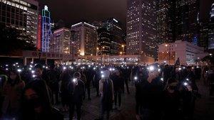 Hong Kong acomiada l'any amb més protestes al carrer