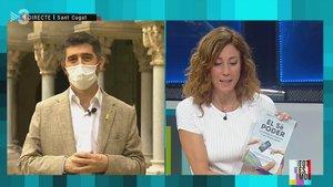 Jordi Puignero y su libro, en 'Tot es mou' (TV-3).