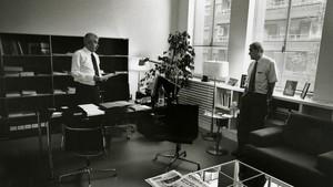 Pasqual Maragall y Ernest Maragall en una imagen de archivo.