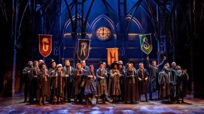 Escena de los ensayos de la obra 'Harry Potter and the Cursed Child'