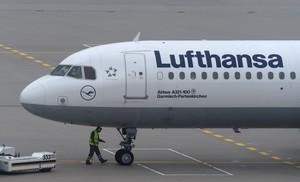 Avión de Lufthansa.