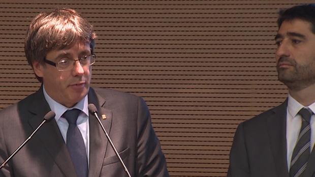 Puigdemont: La Generalitat està preparada per a un ciberatac