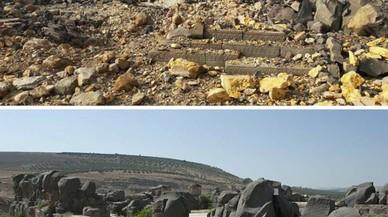 La aviación turca destruye un templo hitita de 3.000 años