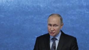 Vladímir Putin, el pasado fin de semana en Moscú.