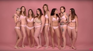 Participantes de Respeto, vídeo donde modelos e influencers critican la discriminación entre mujeres