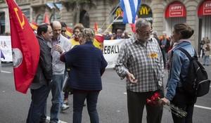 manifestacion del primero de mayo f