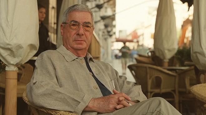 Rafael Azcona, en Madrid, en 2002