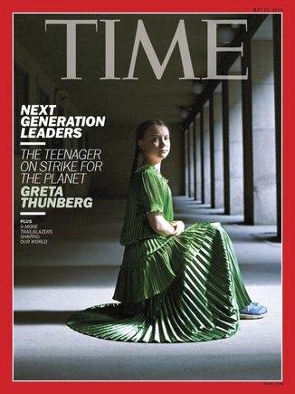 1558021649081 - La activista contra el cambio climático sueca Greta Thunberg, portada de la revista 'Time'