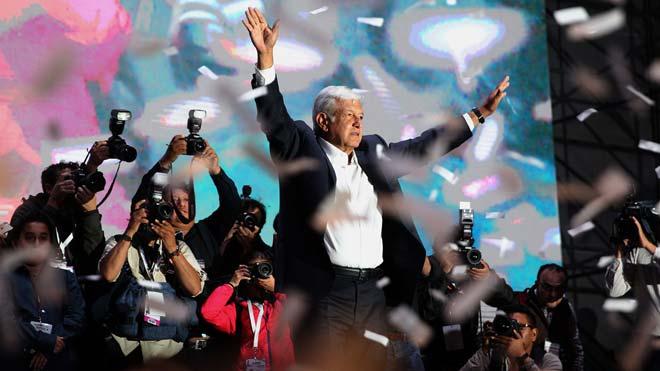 L'esquerrà López Obrador aconsegueix una victòria històrica a Mèxic