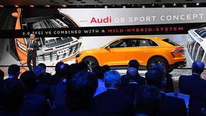 La carrosseria del nou Audi A8 combinarà, per primera vegada, quatre materials