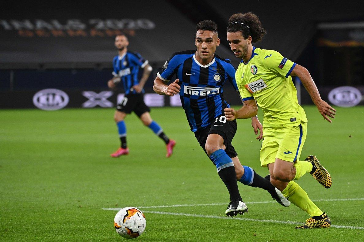 L'Inter acaba amb el somni europeu del Getafe