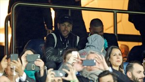 Neymar, furiós amb el VAR