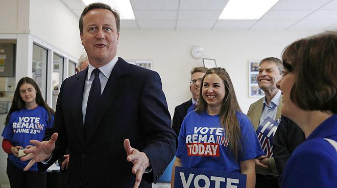 Alegato final de David Cameron en defensa de la permanencia en la UE.