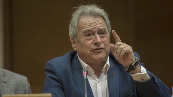 Declaraciones del expresidente de la Diputación de Valencia, Alfonso Rus (PP).
